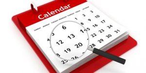 Даты выставления и получения электронных счетов-фактур